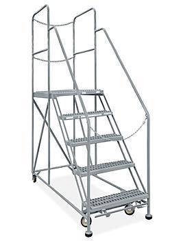 """Rear-Exit Work Platform - 5 Steps, 24 x 36"""" H-7920"""