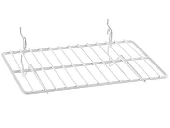 "Wire Shelves - 12 x 8"", White H-8035W"