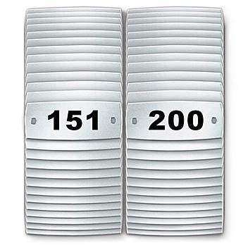 Locker Number Plates #151-200 H-8049