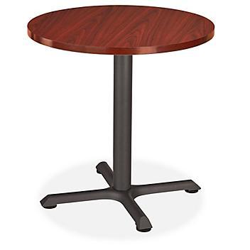 """Café Table - 30"""" Diameter, Mahogany H-8183MAH"""