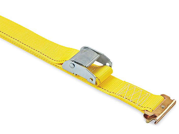 "Uline Cam Buckle Tie-Downs - E-Track, 2"" x 12', 2,500 lb Capacity H-8212"