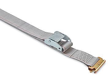 "Uline Cam Buckle Tie-Downs - E-Track, 2"" x 16', 2,500 lb Capacity H-8213"