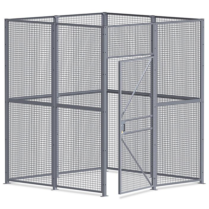 Wire Security Room - 8 x 8 x 10', 4-Sided H-8294-4