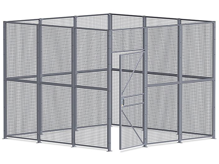 Wire Security Room - 12 x 12 x 10', 4-Sided H-8295-4