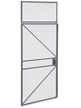 Hinged Door for Wire Security Room - 4 x 10' H-8305