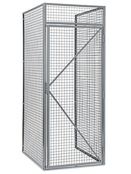 "Bulk Storage Locker Starter Unit - Single Tier, 1 Wide, Unassembled, 36"" Wide, 48"" Deep H-8324"