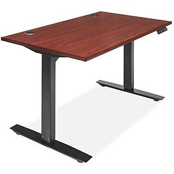 "Adjustable Height Desk - 48 x 30"", Mahogany H-8362MAH"