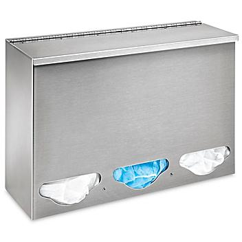 """All Purpose Stainless Steel Dispenser - Multi-Compartment, 12 x 18 x 6"""" H-8475"""
