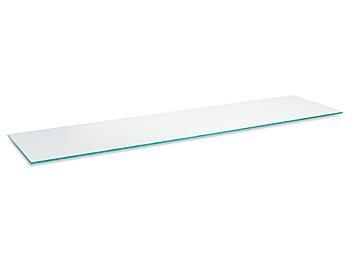 """Slatwall Glass Shelves - 48 x 12"""" H-8517"""