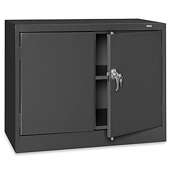 "Under Counter Storage Cabinet - 36 x 18 x 30"", Assembled, Black H-8529ABL"
