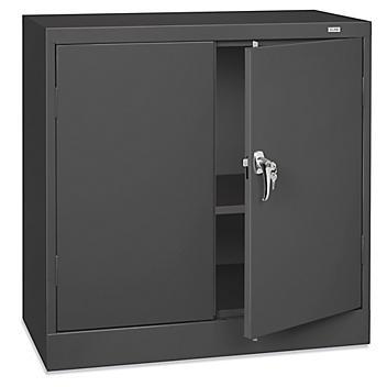 """Under Counter Storage Cabinet - 36 x 18 x 36"""", Unassembled, Black H-8530BL"""