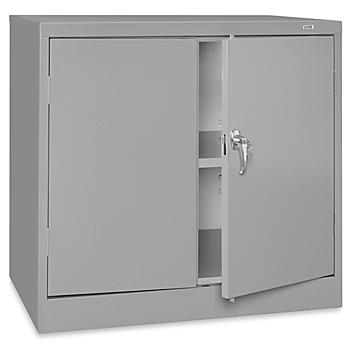 """Under Counter Storage Cabinet - 36 x 24 x 36"""", Assembled, Gray H-8531AGR"""