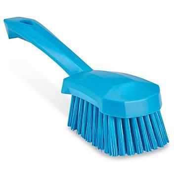 Colored Scrub Brush - Short Handle, Blue H-8559BLU