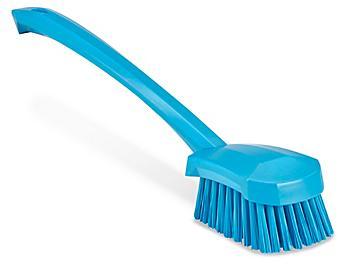 Colored Scrub Brush - Long Handle, Blue H-8560BLU