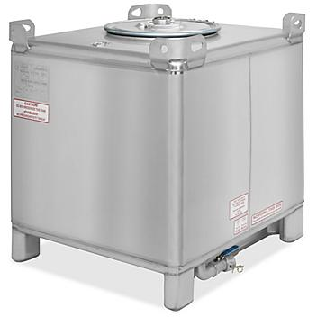Stainless Steel IBC Tank - 350 Gallon H-8669