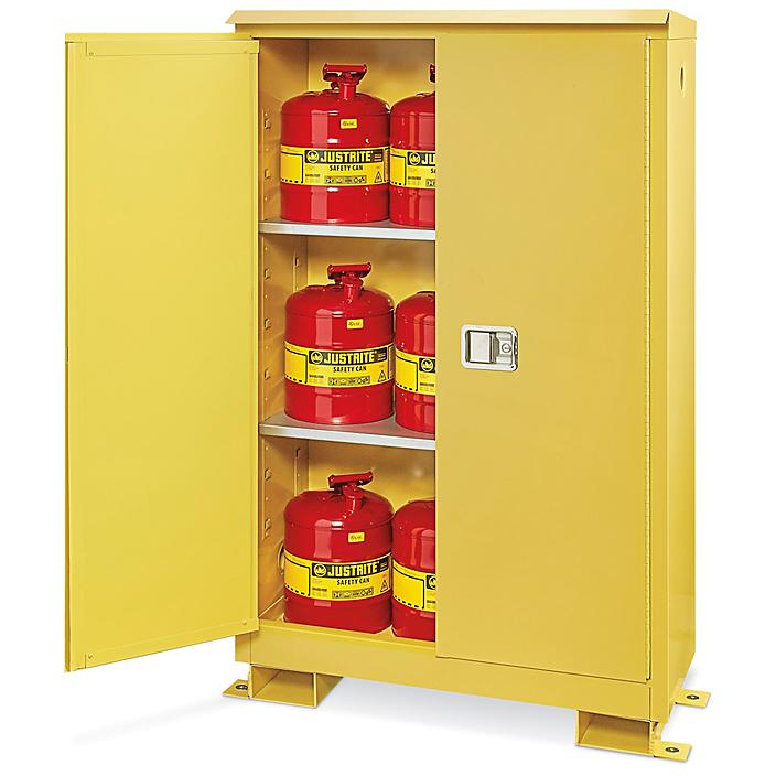 Outdoor Safety Cabinet - Manual Doors, 45 Gallon H-8711M