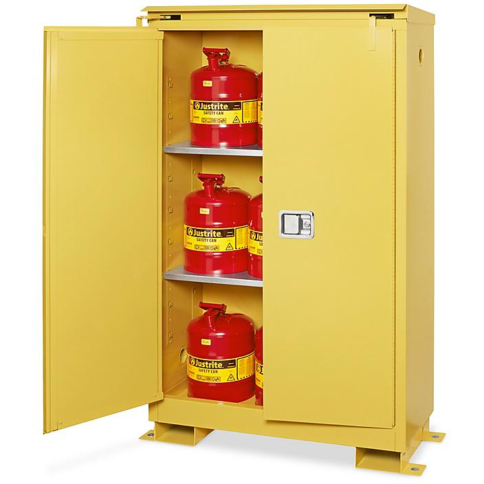 Outdoor Safety Cabinet - Self-Closing Doors, 45 Gallon H-8711S