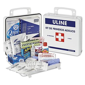 Uline First Aid Kit - Mexico, 50 Person H-8830