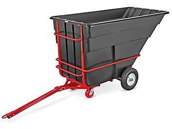 Rubbermaid® Towable Tilt Truck - 1 1/2 Cubic Yard H-8922