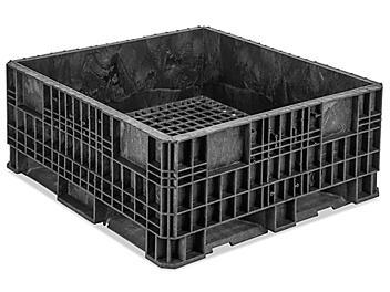"""Rigid Bulk Container - 48 x 45 x 19"""" H-8927"""