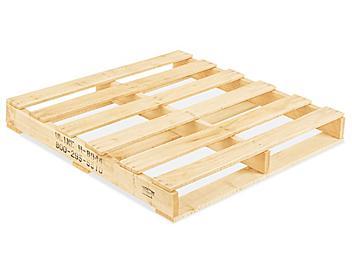 "Heat Treated Wood Pallet - 36 x 36"" H-8944"