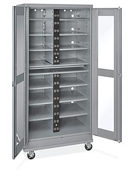 """Mobile Charging Cabinet - 36 x 24 x 78"""" H-8961"""
