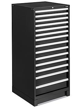 """Modular Drawer Cabinet - 14 Drawer, 29 x 29 x 62"""" H-8985"""