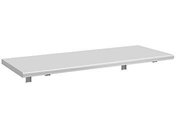 "Folding Workbench with Rounded Edge - 60 x 24"", Laminate H-8993-LAM"