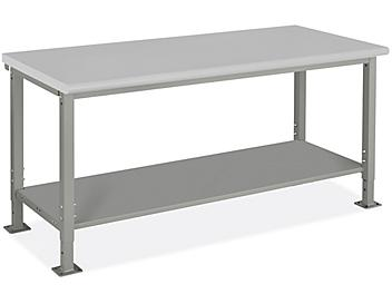 """Heavy-Duty Packing Table - 72 x 30"""", Laminate Top H-9003-LAM"""