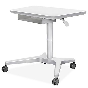 """Sit/Stand Mobile Desk - 30 x 22"""" H-9014"""