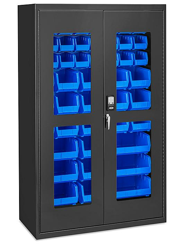 "Access Control Cabinet - 48 x 24 x 78"", 48 Bins"