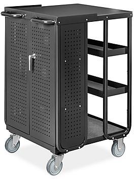 Uline Receiving Cart - Black H-9022BL