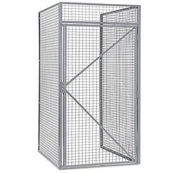 "Bulk Storage Locker Starter Unit - Single Tier, 1 Wide, Unassembled, 48"" Wide, 36"" Deep H-9058"