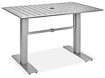 "Bayshore Patio Table - 32 x 48"" Rectangle H-9120"