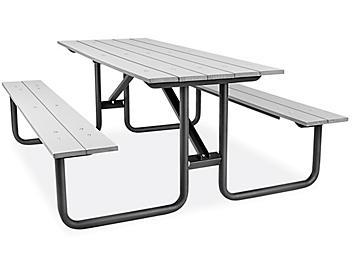 Composite Picnic Table - 6', Gray H-9130GR