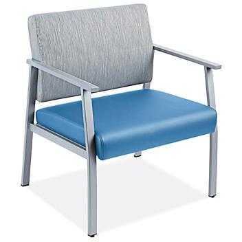 Downtown Guest Chair - Oversized, Blue/Gray H-9132BLU/GR