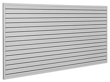 Industrial PVC Slatwall Kit - 4 x 8'