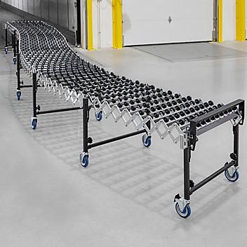 "Uline Expandable Conveyor - 30"" x 24' H-9218"