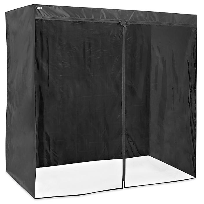 """Mobile Shelving Cover - 72 x 36 x 72"""", Deluxe H-9223DLX"""