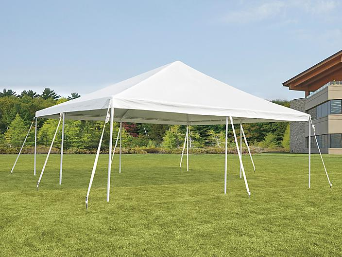 Event Tent with Stakes - 20 x 20' H-9234