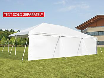 Side Wall for Event Tent - 30', Solid H-9240