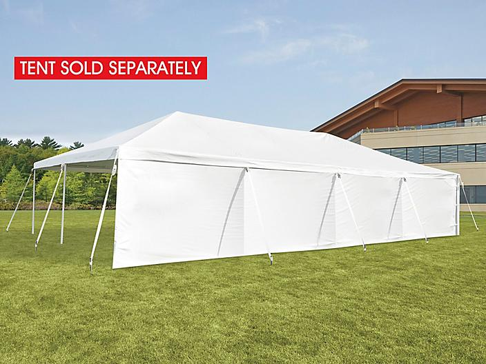 Side Wall for Event Tent - 40', Solid H-9243