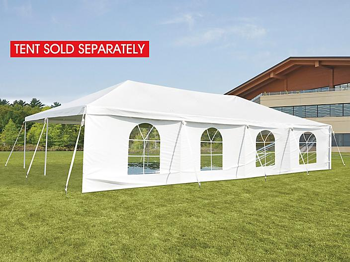 Side Wall for Event Tent - 40', Window H-9244