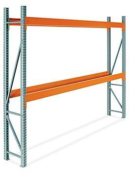 "2 Shelf Pallet Rack Starter Unit - 144 x 24 x 120"" H-9253"