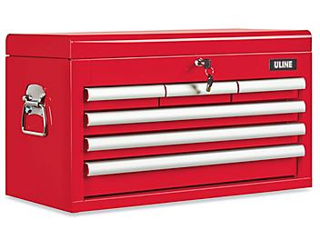 Uline Top Chest - 6 Drawer, Red H-9292R