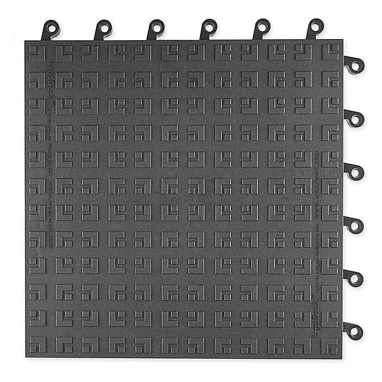 """ErgoDeck® Mat - 18 x 18"""", Solid Tile H-9389"""