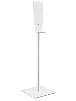 Uline Hand Sanitizer Dispenser Stand with Drip Tray H-9416
