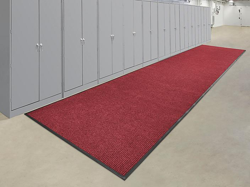Waterhog™ Carpet Mat Runner - 6 x 30', Red/Black H-9436R