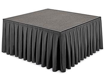 """Portable Stage Skirting - 48 x 24"""" H-9445"""