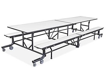 Mobile Cafeteria Table - Light Gray H-9447GR